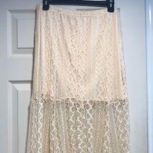 Pacsun lace skirt.